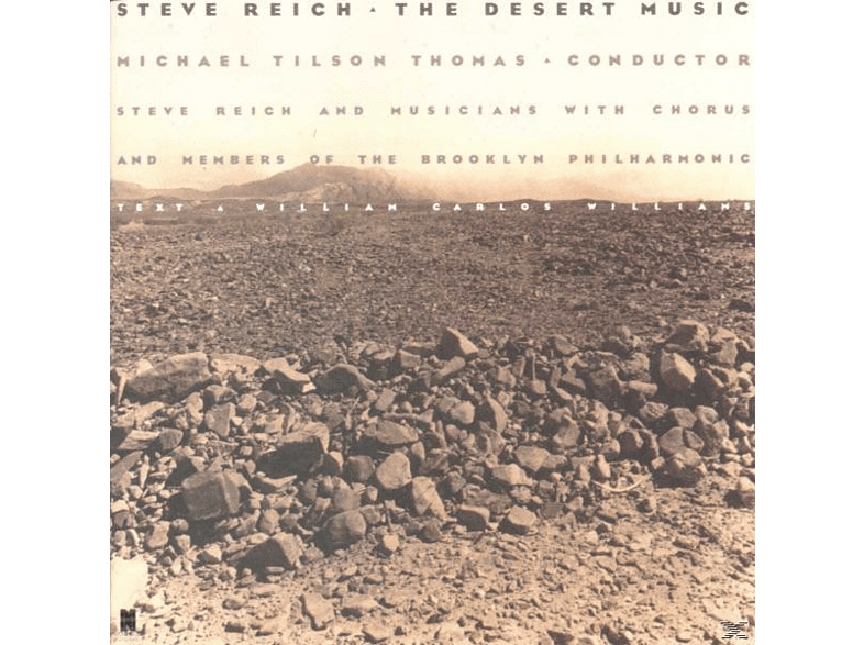 Steve Reich - The Desert Music [CD]