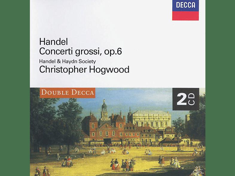 VARIOUS, Christopher/handel And Haydn Society Hogwood - Concerti Grossi Op.6 Nr.1-12 [CD]