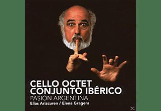Cello Octet Conjunto Ibérico - Pasion Argentina  - (CD)