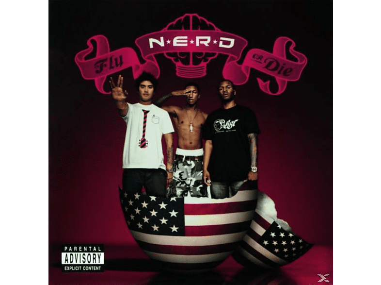 N.E.R.D - Fly Or Die CD