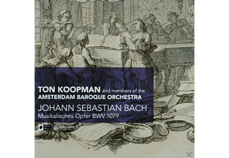 Ton Koopman, Ton & Members Of Amsterdam Baroque Orches Koopman - Musikalisches Opfer BWV 1079  - (CD)