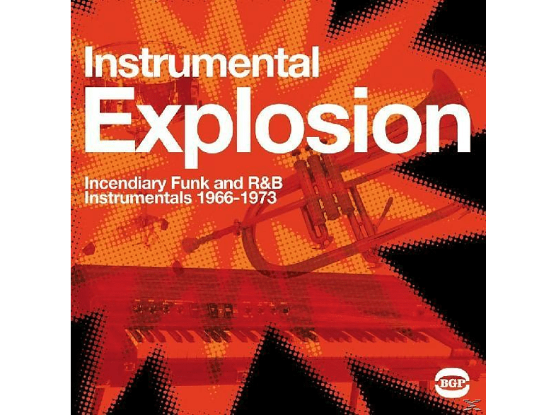 VARIOUS - INSTRUMENTAL EXPLOSION - INCENDIARY FUNK AND R&B.. [Vinyl]