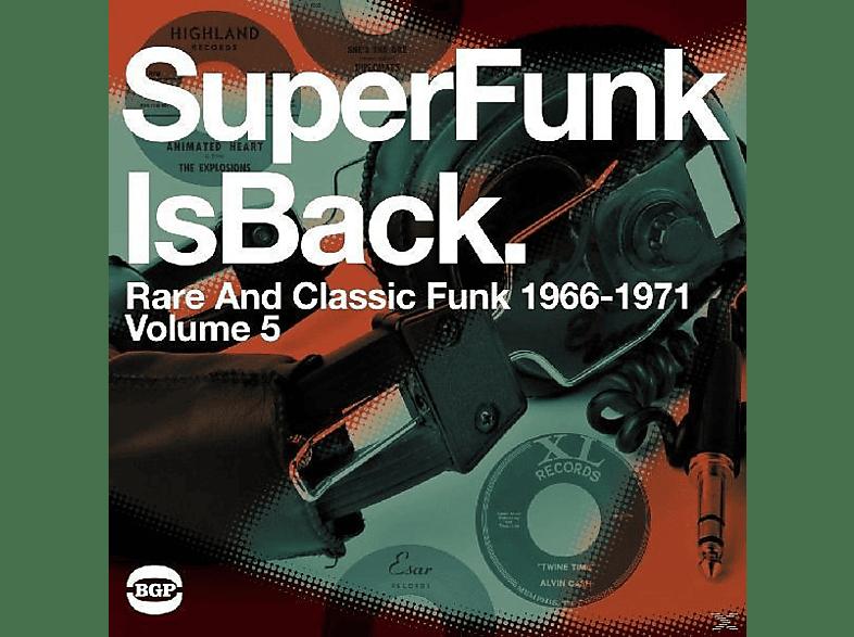 VARIOUS - Super Funk Is Back-Classic Funk 1966-1971 [Vinyl]