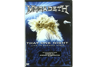 Megadeth - That One Night: Live in Buenos Aires CD