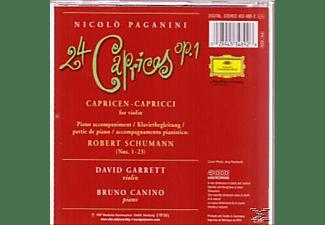 Bruno Canino, David Garrett - 24 Capricen Für Violine  - (CD)