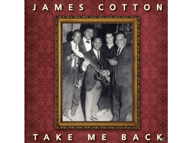 James Cotton - Take Me Back-180gr- [Vinyl]
