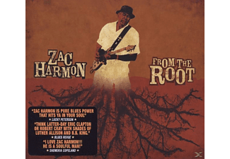 Zac Harmon - From the Root  - (CD)