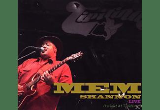 Mem Shannon - Live-A Night At Tipitina's  - (CD)