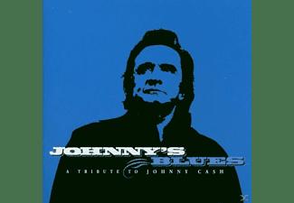 JOHNNY.=TRIBUTE= Cash, VARIOUS/BLUES - Johnny's Blues-A Tribute  - (CD)