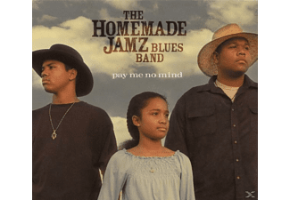 The Homemade Jamz Blues Band - Pay Me No Mind  - (CD)