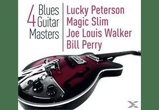 VARIOUS - 4 Blues Guitar Masters  - (CD)