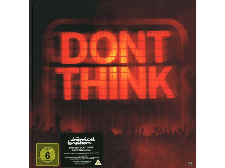 The Chemical Brothers - Don't Think [DVD + CD]