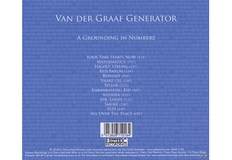 Van Der Graaf Generator - A Grounding In Numbers  - (CD)