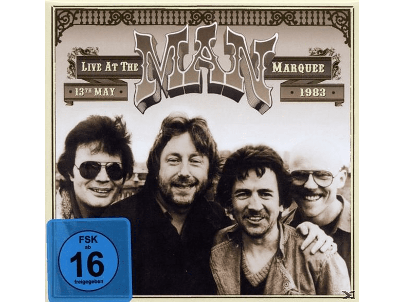 Man - Live At The Marquee 1983 (2cd+Dvd) [CD]