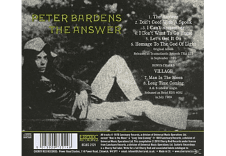 Peter Bardens - The Answer (Expanded+Remastered)  - (CD)