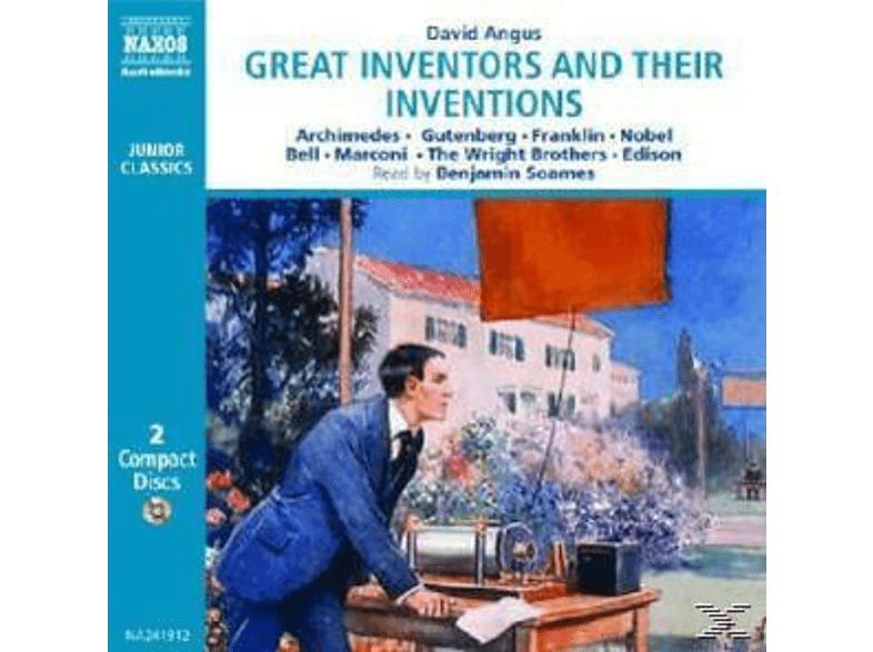 Great Inventors And Their Inventions - (CD)
