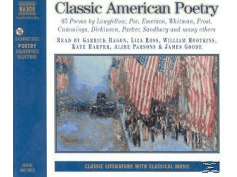 CLASSIC AMERICAN POETRY - (CD)
