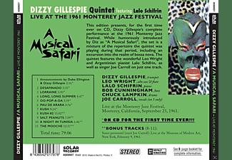 Dizzy Gillespie, Lalo Schifrin - A Musical Safari  - (CD)