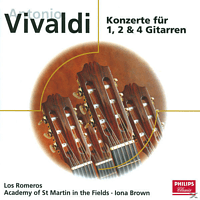 Brown, Asmf, Los Romeros/Brown/Allesandro - GITARRENKONZERTE [CD]