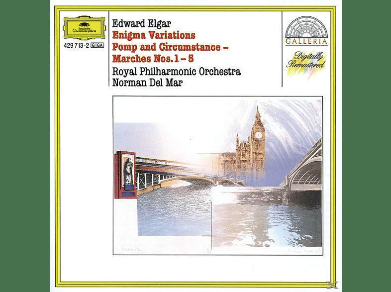 Norman Del Mar, Norman/rpo Del Mar - Enigma-Variationen/Pomp&Circumstance [CD]