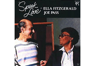 Ella Fitzgerald, Fitzgerald, Ella / Pass, Joe - SPEAK LOVE - (CD)