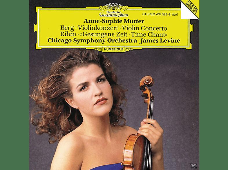 Anne-Sophie Mutter, Mutter,Anne-Sophie/Levine,James/CSO - Violinkonzert/Gesungene Zeit [CD]