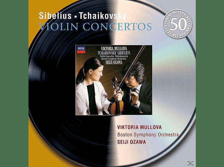 VARIOUS, Mullova,Viktoria/Ozawa,Seiji/BSO - Violinkonzerte [CD]
