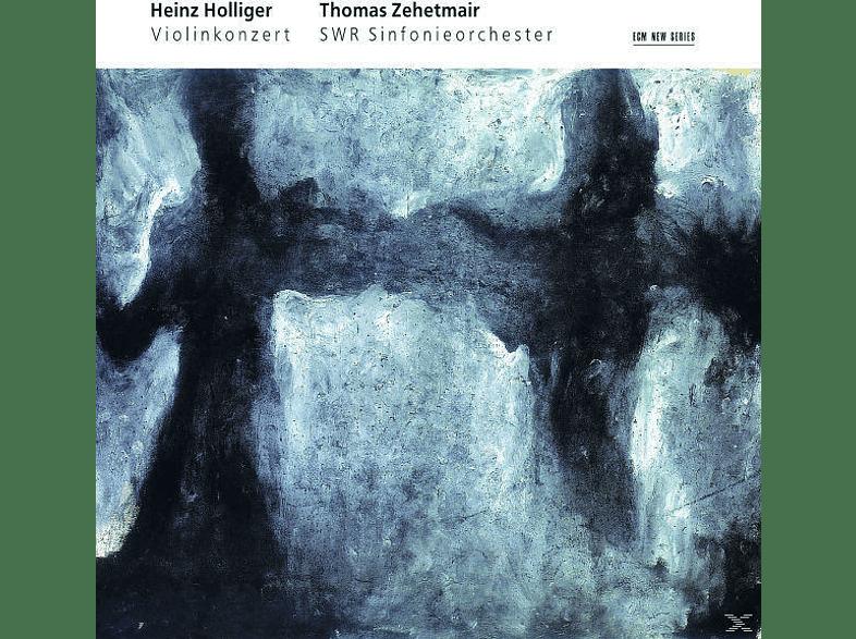 Holliger, Thomas Zehetmair, Swr Symphonieorchester - VIOLINKONZERT - HOMMAGE A LOUIS SOUTTER [CD]