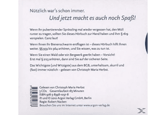 - BGB - DAS BESTE AUS DEM BÜRGERLICHEN GESETZBUCH  - (CD)