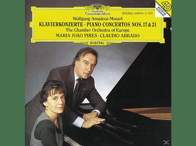 Pires, Pires/Abbado/COE - Klavierkonzerte 17+21 [CD]