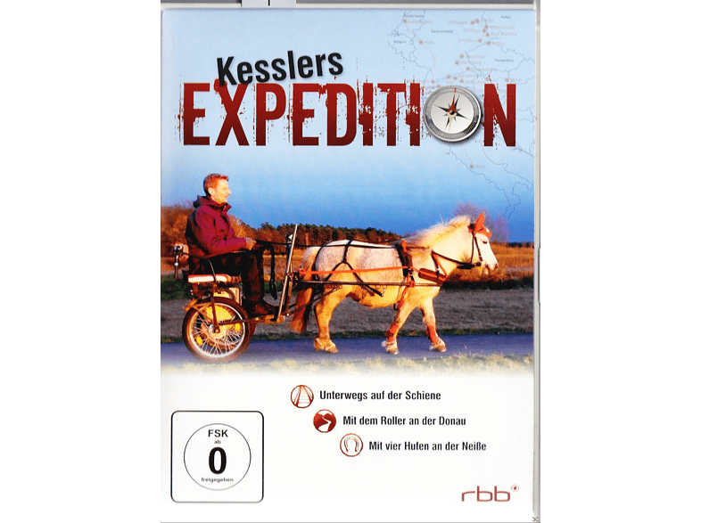 Kesslers Expedition - Vol. 3 [DVD]