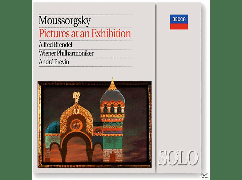 André Previn, Brendel,Alfred/Previn,Andre/WP - Bilder Einer Ausstellung (Klavier+Orchester) [CD]