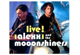 Alexx And The Moonshiners - Live!  - (CD)