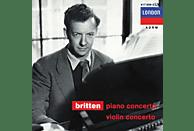Edward Benjamin Britten, Richter,Svjatoslav/Lubotsky,Mark/ECO - Klavierkonzert Op.13/Violinkonzert Op.15 [CD]