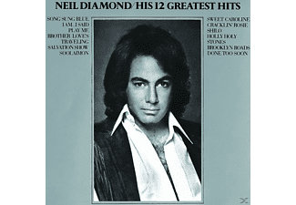 Neil Diamond HIS 12 GREATEST HITS CD