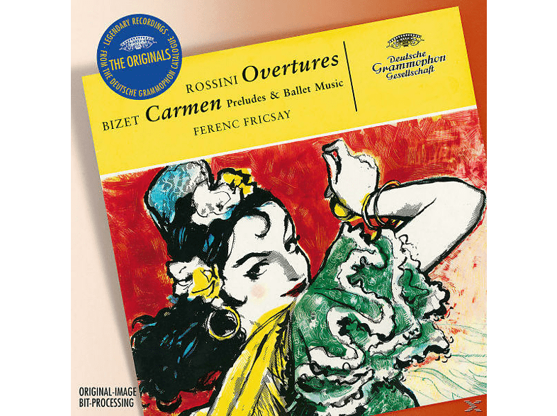Riasso, Ferenc Riasso & Fricsay - Ouvertüren Und Vorspiele [CD]
