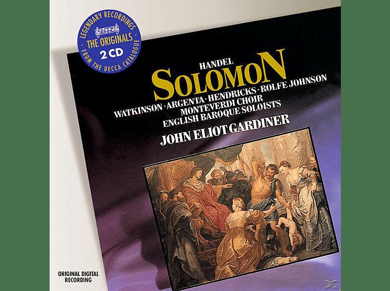 John Eliot Gardiner, Watkinson/Argenta/Hendricks/R.Johnson/EBS/Gardiner - Solomon (Ga) [CD]