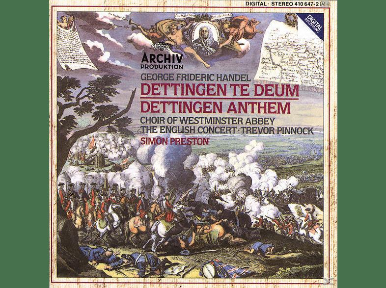 Westminster Abbey Choir/Preston/EC/+ - Dettinger Te Deum Und Anthem [CD]