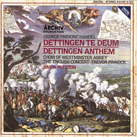 Westminster Abbey Choir/Preston/EC/+ - Dettinger Te Deum Und Anthem [CD]