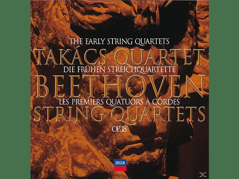 Takacs Quartet - DIE FRÜHEN STREICHQUARTETTE OP.18 [CD]
