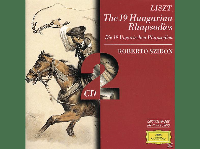 Roberto Szidon - Ungarische Rhapsodien 1-19 [CD]