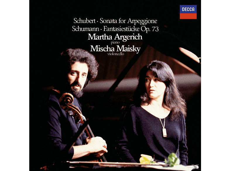 Martha Argerich, Martha Argerich Mischa Maisky - Klaviersonate D 821/3/Fantasie Stücke Op.73 [CD]