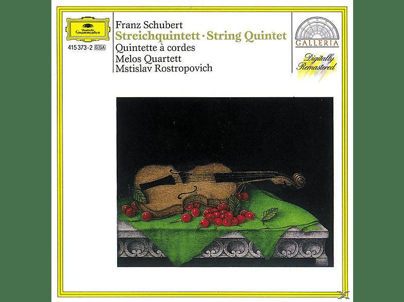 VARIOUS, Mstislav/melos Quartett Rostropowitsch - Streichquintett D 956 [CD]