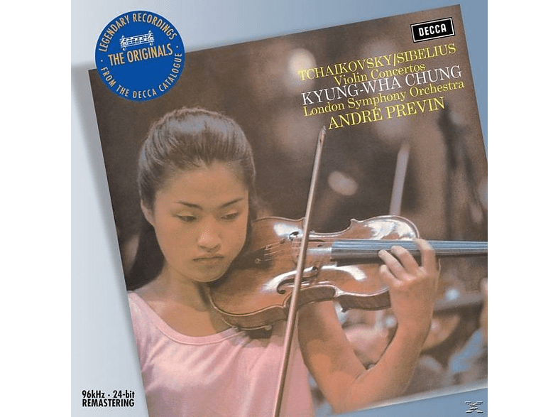 VARIOUS, Chung,Kyung-Wha/Previn,Andre/LSO - Violinkonzerte [CD]