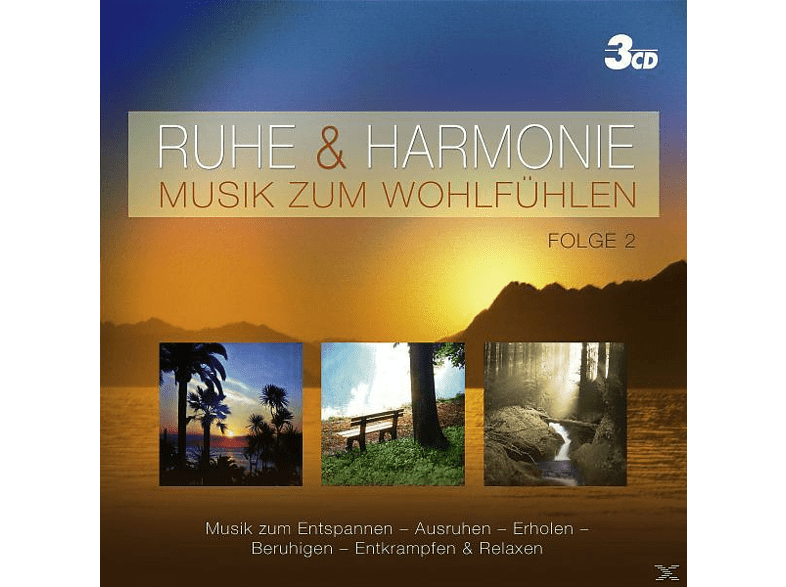 VARIOUS - RUHE & HARMONIE - MUSIK ZUM WOHLFÜHLEN FOLGE 2 [CD]