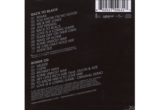 Amy Winehouse - Back To Black (Deluxe Edition)  - (CD)
