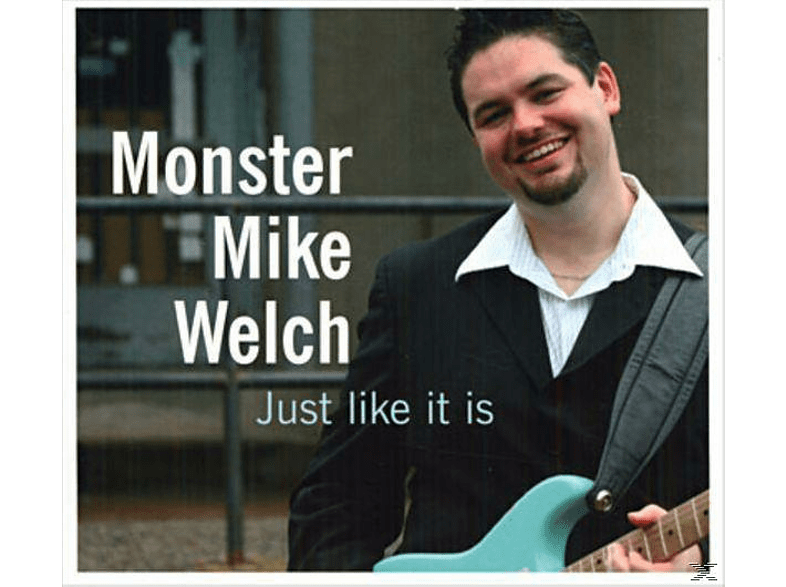 """Mike """"monster"""" Welch - JUST LIKE IT IS [CD]"""