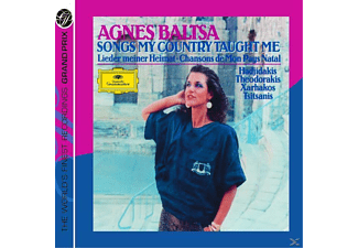 Agnes Baltsa, Baltsa/Xarhakos/Athens Experimental Orchestra/+ - Songs My Country Taught Me - (CD)