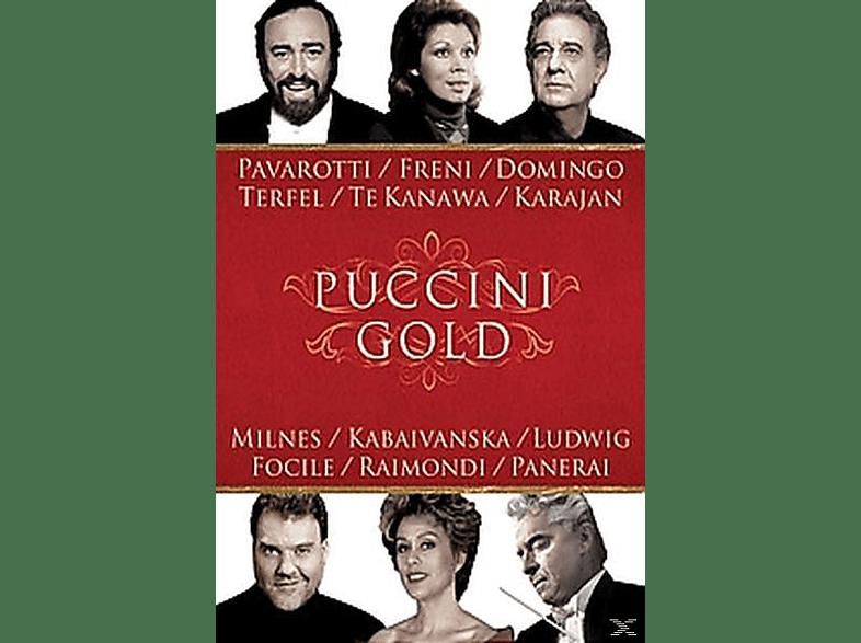 VARIOUS, Pavarotti/Domingo/Freni/Terfel/+ - Puccini Gold [DVD]