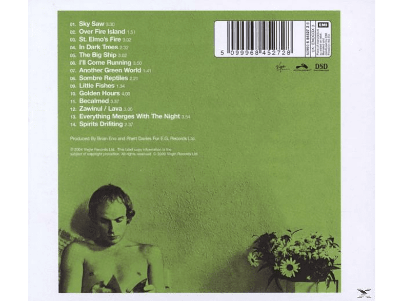 Brian Eno - Another Green World-Remaster 2004 CD